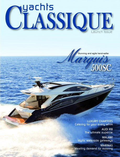 Yachts Classique Cover Issue 1