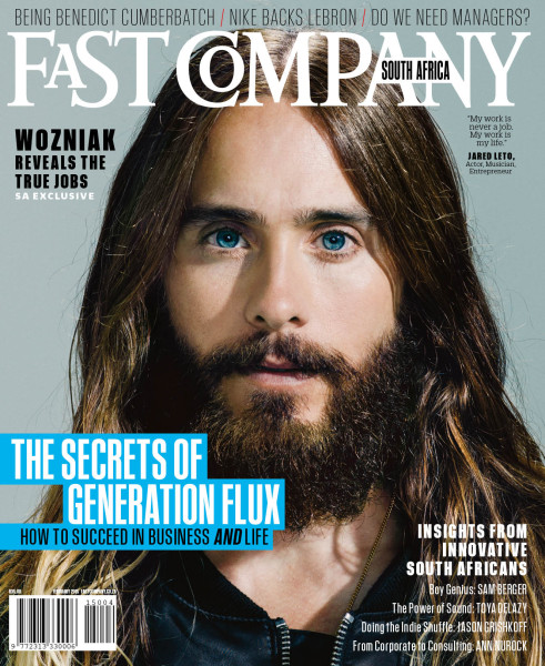 Fast Company SA Feb 2015 issue 4 cover